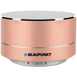ALTAVOZ BLAUPUNKT PORTATIL MINI BLUETOOTH POTENCIA DE SALIDA 5W COLOR ROSA