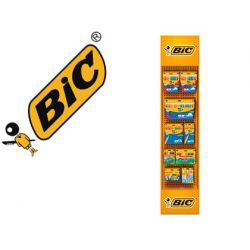 EXPOSITOR BIC SUELO FLOORSTAND COLORING LAPICES DE COLORES KIDS / PLASTIDECOR / ROTULADOR KIDS 142 U