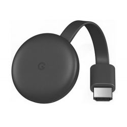 REPRODUCTOR MULTIMEDIA DIGITAL GOOGLE CHROMECAST 3 FULL HD 1920X1080 PIXELES HDMI WIFI Y MICRO USB C