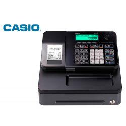 REGISTRADORA CASIO SE-S100 NEGRO 24 DEPARTAMENTOS DISPLAY LCD CAJON GRANDE