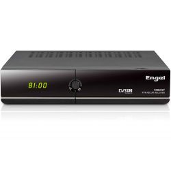 RECEPTOR SATELITE TV ENGEL RS8100Y HD PVR WIFI ETHERNET MP3 JPEG LECTOR TARJETAS HDMI 1.3 ENTRADA 2X