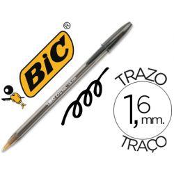 BOLIGRAFO BIC CRISTAL X-LARGE TINTA NEGRO 1,6 MM