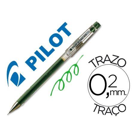 BOLIGRAFO PILOT PUNTA AGUJA G-TEC-C4 VERDE