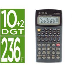 CALCULADORA CITIZEN CIENTIFICASR-270N 10+2 DIGITOS