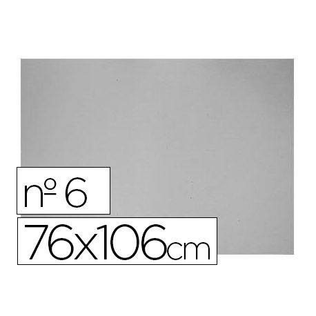 CARTON GRIS N. 6 76X106 CM -HOJA