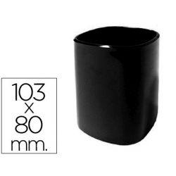 CUBILETE PORTALAPICES 102-N PLASTICO NEGRO 103X80 MM