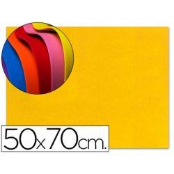 GOMA EVA LIDERPAPEL 50X70CM 60G/M2 ESPESOR 1.5MM AMARILLO