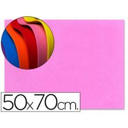 GOMA EVA LIDERPAPEL 50X70CM 60G/M2 ESPESOR 1.5MM ROSA