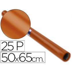 PAPEL CHAROL ROLLO MARRON DE 50X65 CM