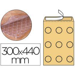 SOBRE BURBUJAS CREMA Q-CONNECT J/6 300 X 440 MM
