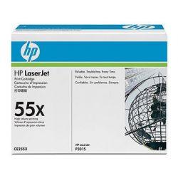 TONER HP 55X NEGRO -12500PAG- P3015X