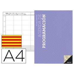 AGENDA DE PROGRAMACION A4 PLAN MENSUAL Y PROGRAMACION SEMANAL DEL CURSO EN CATALAN