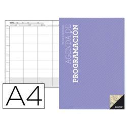 AGENDA DE PROGRAMACION A4 PLAN MENSUAL Y PROGRAMACION SEMANAL DEL CURSO