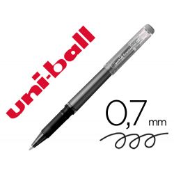 ROTULADOR UNI-BALL ROLLER UF-222 TINTA GEL BORRABLE 0,7 MM NEGRO