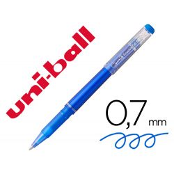 ROTULADOR UNI-BALL ROLLER UF-222 TINTA GEL BORRABLE 0,7 MM AZUL