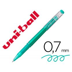 ROTULADOR UNI-BALL ROLLER UF-222 TINTA GEL BORRABLE 0,7 MM VERDE