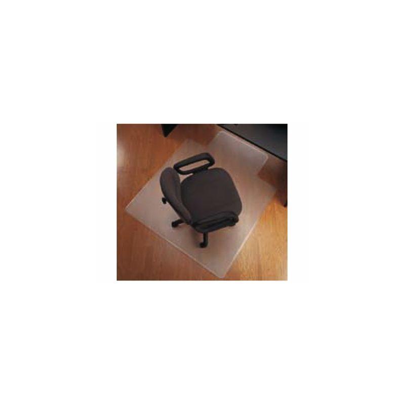 ALFOMBRILLA PARA SUELO Q-CONNECT PVC PROTECTORA DE SUELOS 1143X1346 MM GROSOR 2,5 MM