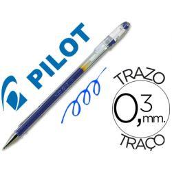 BOLIGRAFO PILOT G-1 AZUL TINTA GEL