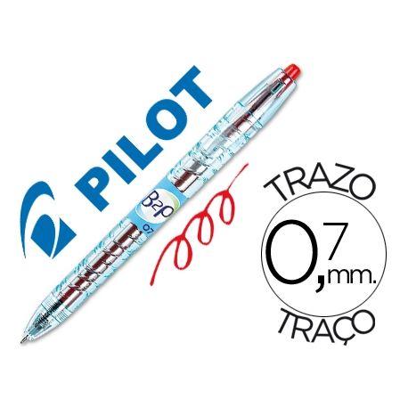 BOLIGRAFO PILOT GEL B2P ROJO