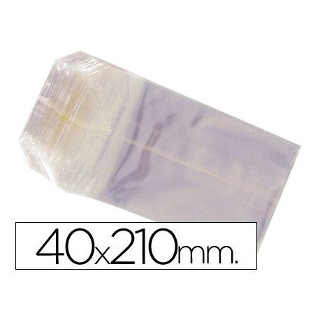 BOLSAS CELOFAN 40X210 MM -PAQUETE 100
