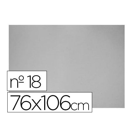 CARTON GRIS N. 18 76X106 CM -HOJA