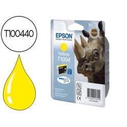 CARTUCHO DE TINTA EPSON STYLUS T1004 AMARILLO SX515W / 600FW / 610FW / OFFICE B40W / BX600FW / 610FW