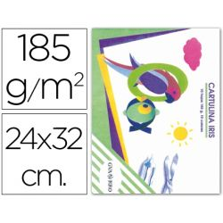 CARTULINA IRIS 185 GRS 24X32 EN MINIPACK DE 10 HOJAS