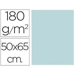 CARTULINA LIDERPAPEL 50X65 CM 180G/M2 AZUL