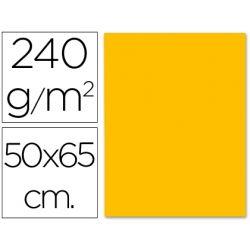 CARTULINA LIDERPAPEL 50X65 CM 240G/M2 NARANJA