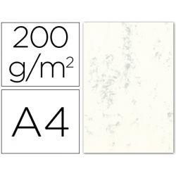 CARTULINA MARMOLEADA DIN A4 200 GR. GRIS