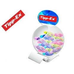 CORRECTOR TIPP-EX MICRO TAPE TWIST 8MTX5MM EXPOSITOR 60 UNIDADES