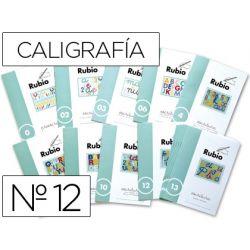 CUADERNO RUBIO CALIGRAFIA N. 12