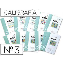 CUADERNO RUBIO CALIGRAFIA N. 3