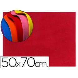 GOMA EVA LIDERPAPEL 50X70CM 60G/M2 ESPESOR 1.5MM ROJO