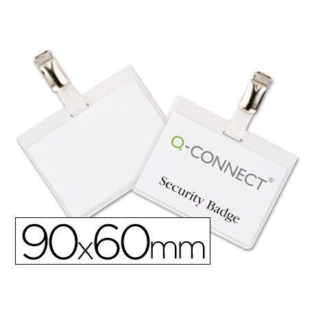 IDENTIFICADOR CON PINZA Q-CONNECT KF01562 60X90 MM -CERRADA