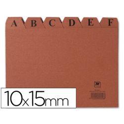 INDICE FICHERO CARTON -N. 3 -TAMA¾O 10X15