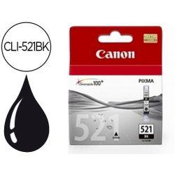 INK-JET CANON CLI-521BK NEGRO PIXMA MP620/630/980 IP3600/4600