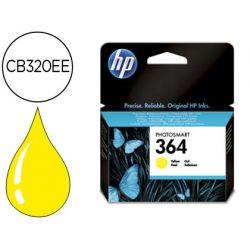 INK-JET HP 364 AMARILLO PHOTOSMART PREMIUM - C309A / SERIES C5300 / C6300 / B8500 / D5400 -300PAG