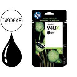 INK-JET HP 940XL NEGRO 49ML 2.200PAG OFFICEJET PRO 8000 / PRO 8500