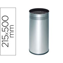 PARAGUERO METALICO 314 PERFORADO PLATEADO 50X21,5 CM