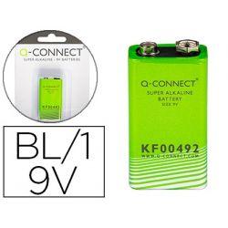 PILA Q-CONNECT ALCALINA 9 VOL.-BLISTER CON 1 PILA