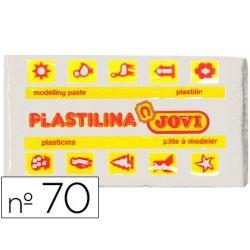 PLASTILINA JOVI 70 BLANCA -UNIDAD -TAMA¾O PEQUE¾O