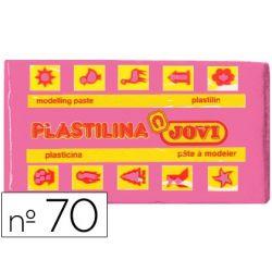 PLASTILINA JOVI 70 ROSA -UNIDAD -TAMA¾O PEQUE¾O