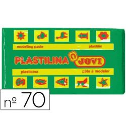 PLASTILINA JOVI 70 VERDE CLARO -UNIDAD -TAMA¾O PEQUE¾O