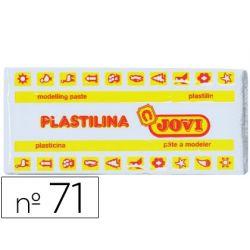 PLASTILINA JOVI 71 BLANCO -UNIDAD -TAMA¾O MEDIANO