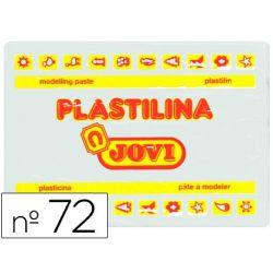 PLASTILINA JOVI 72 BLANCO -UNIDAD -TAMA¾O GRANDE