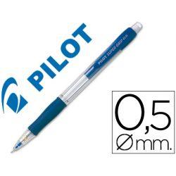 PORTAMINAS PILOT SUPER GRIP AZUL 0,5 MM SUJECION DE CAUCHO