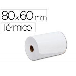 ROLLO SUMADORA TERMICO Q-CONNECT 80 MM ANCHO X 60 MM DIAMETRO