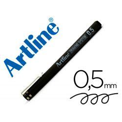 ROTULADOR ARTLINE CALIBRADO MICROMETRICO NEGRO EK-235 0.5 MM -RESISTENTE AL AGUA