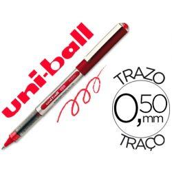 ROTULADOR UNI-BALL ROLLER UB-150 MICRO EYE ROJO 0,5 MM -UNIDAD